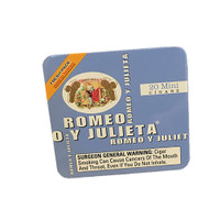 Romeo y Julieta Minis Aroma Blue - Natural Pack of 100