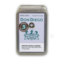 Don Diego Preludes - Natural Pack of 30