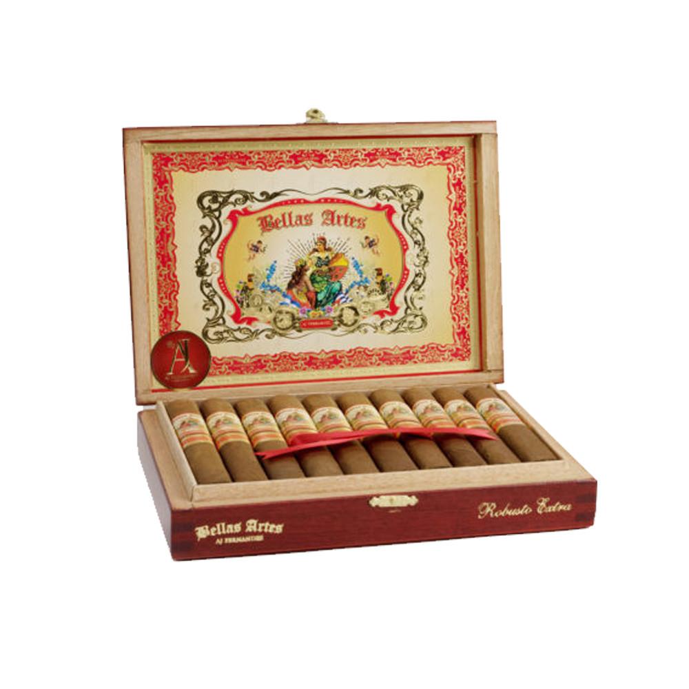 Bellas Artes by AJ Fernandez Short Churchill Cigars - Natural Box of 20