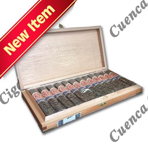D'Crossier Presidential Collection Pennsylvania Avenue Gordito Cigars - Natural Box of 12