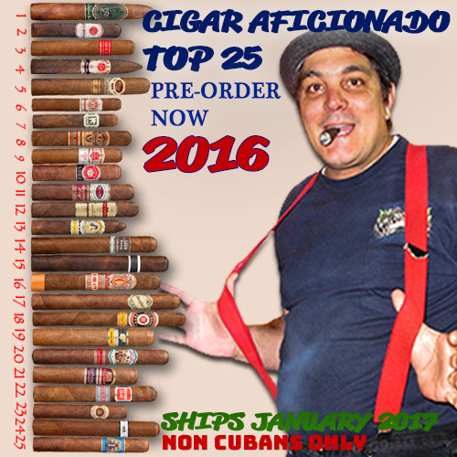 Pre-Order Now 25 Best Cigars of 2016 - Cigar Aficionado
