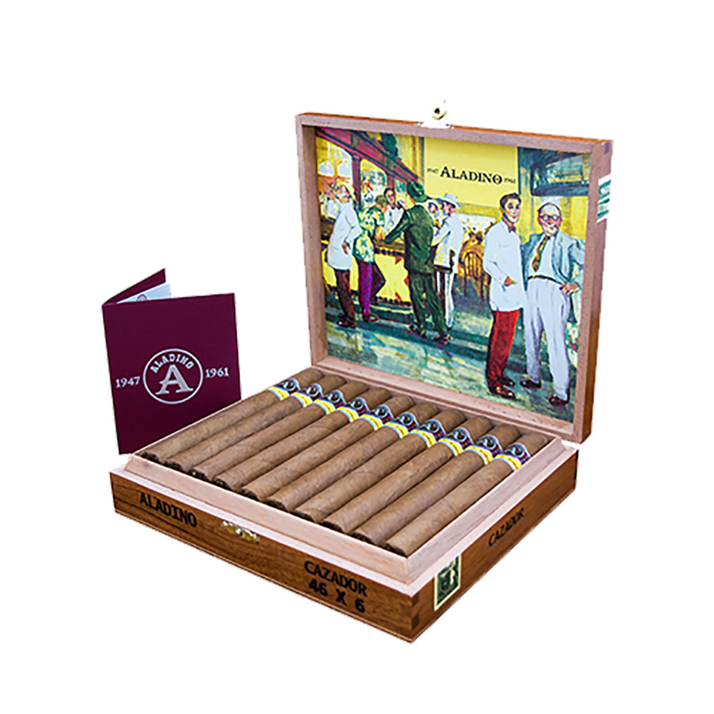 1947 Aladino 1961 Cazador Cigars - Natural Box of 20