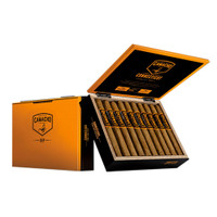 Camacho Connecticut Box-Pressed Toro Cigars - Natural Box of 20