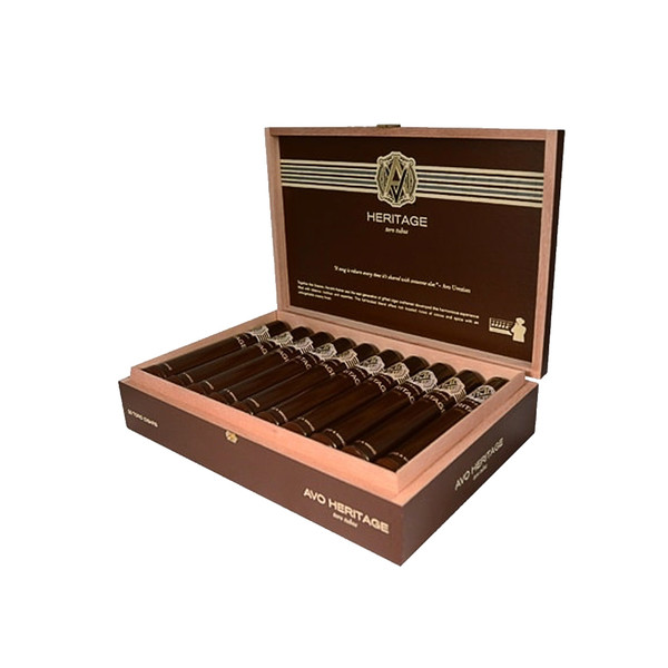 Avo Heritage Toro Tubo Cigars - Sungrown Box of 20