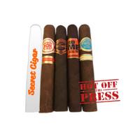 All Nicaraguan Aficionados Gift Cigars - Sampler of 5
