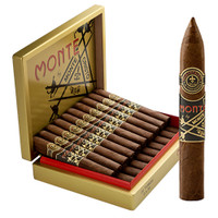 Monte by Montecristo Crafted AJ Fernandez Belicoso - Dark Box of 20