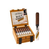 Alec Bradley Black Market Esteli Torpedo Cigars - Natural Box of 22