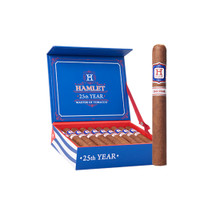 Rocky Patel Hamlet 25th Year Sixty Cigars - Natural Box of 20