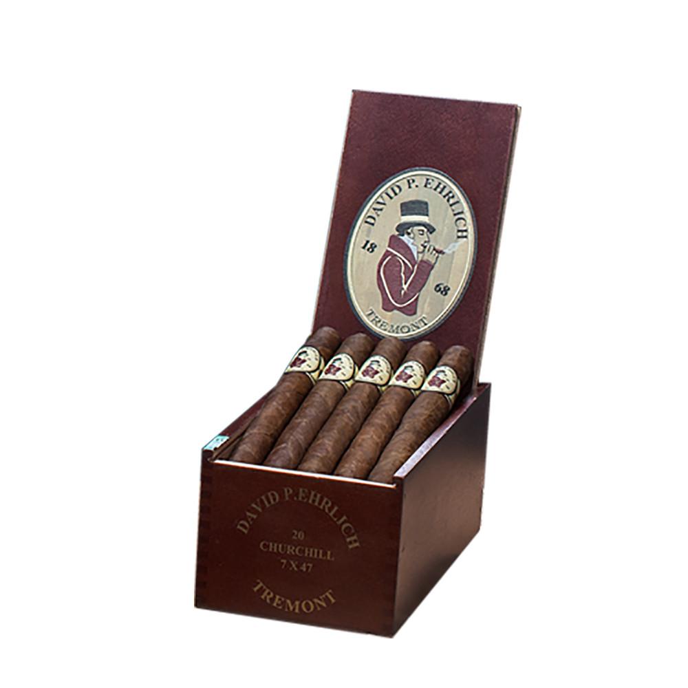 MLB David P Ehrlich Churchill Cigars - Natural Box of 20