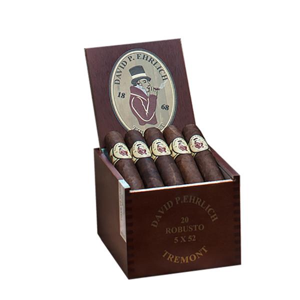 MLB David P Ehrlich Robusto Cigars - Natural Box of 20