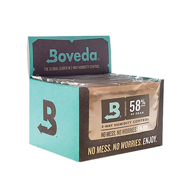 Boveda 58 Percent RH Retail Cube - Pack of 12