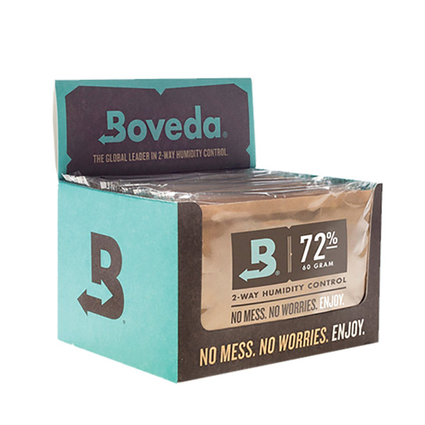 Boveda 72 Percent RH Retail Cube - Pack of 12
