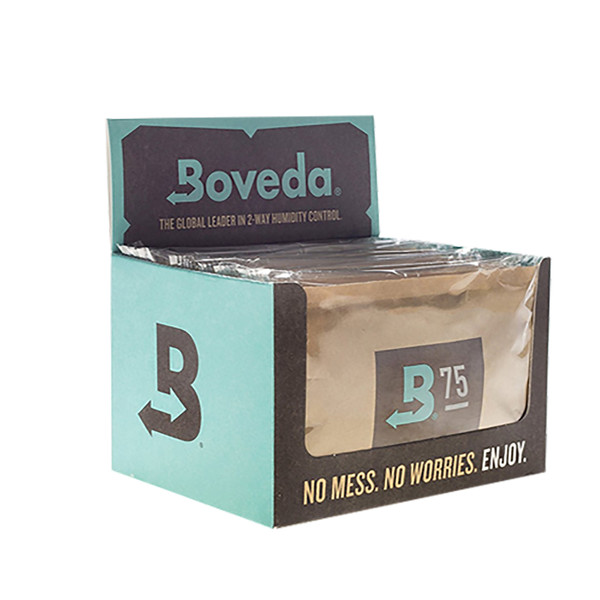 Boveda 75 Percent RH Retail Cube - Pack of 12