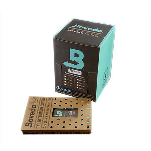 Boveda 58 Percent RH Retail Carton - Pack of 6
