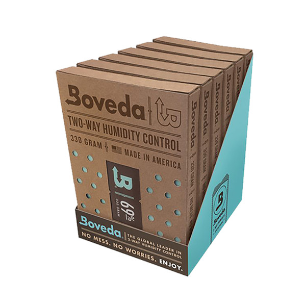 Boveda 75 Percent RH Retail Carton Humidifier or Dehumidifier - Pack of 6