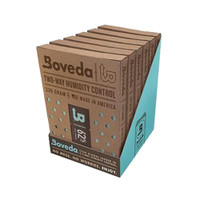 Boveda 84 Percent RH Retail Carton Humidifier or Dehumidifier - Pack of 6