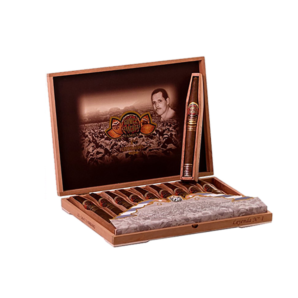 Micallef Gomez Sanchez Leyenda No. 1 Cigars - Dark Natural Box of 10