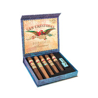 San Cristobal Paradise Assortment with Lighter - Box of 5