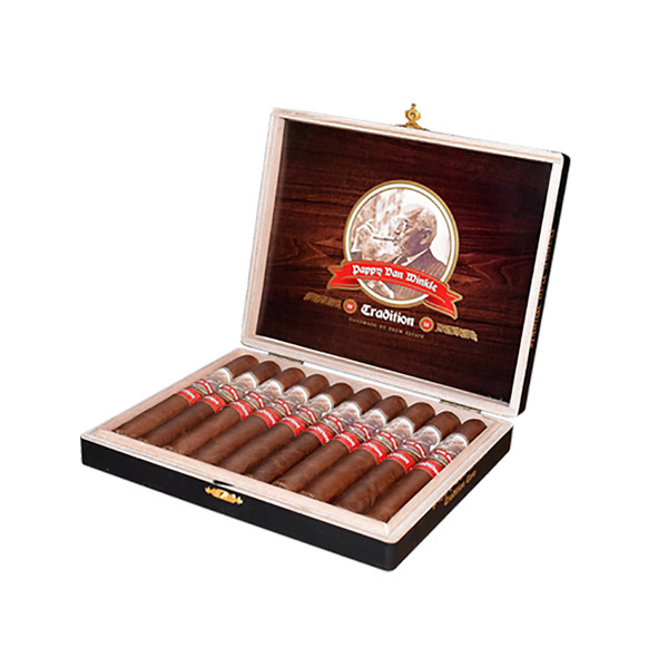 Pappy Van Winkle Tradition Belicoso Fino Cigars - Dark Box of 10
