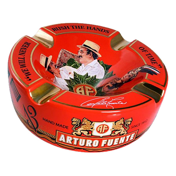 Arturo Fuente Journey Through Time Ashtray Red - Holds 4 Cigars