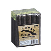 Cuban Rejects Robusto Cigars - Maduro Bundle of 20