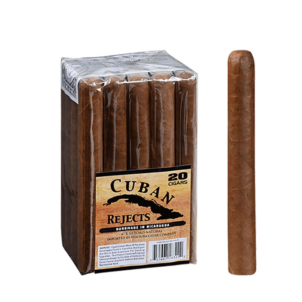 Cuban Rejects Toro Cigars - Natural Bundle of 20