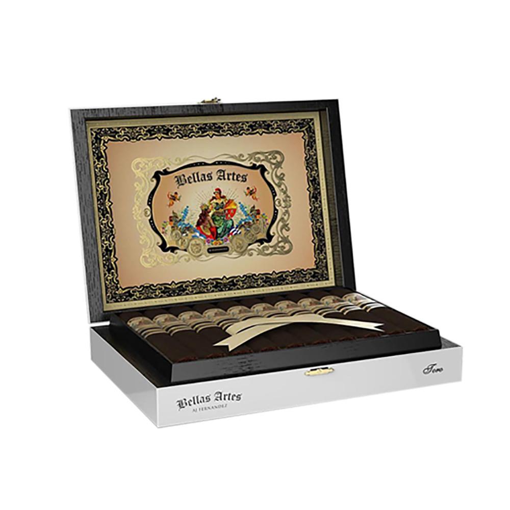 Bellas Artes Box Pressed Short Churchill Cigars - Maduro Box of 20