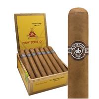 Montecristo Original No. 3 Corona Cigars - Natural Box of 25