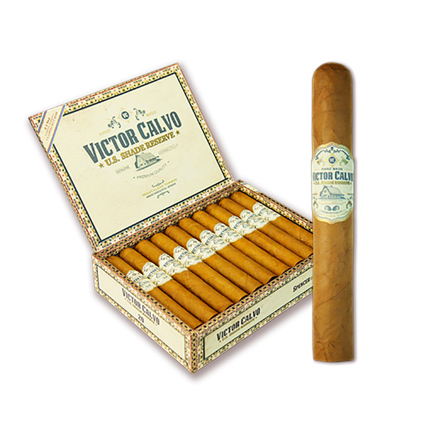 Victor Calvo US Shade Reserve Spencer Cigars - Natural Box of 20