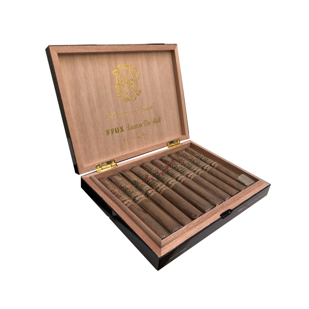 Arturo Fuente OPUS X LIMITED EDITION Tauros The Bull 10 Cigars Travel Case
