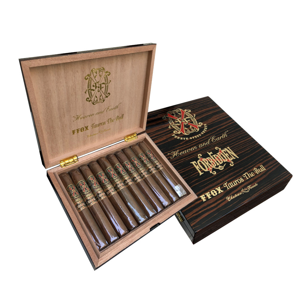 Arturo Fuente OPUS X LIMITED EDITION Tauros The Bull Cigars - Natural Box of 10