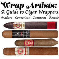 Wrap Artists: A Guide to cigar wrappers Sampler