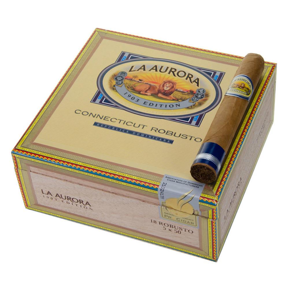 La Aurora Preferidos Sapphire Toro Cigars - Natural Box of 18