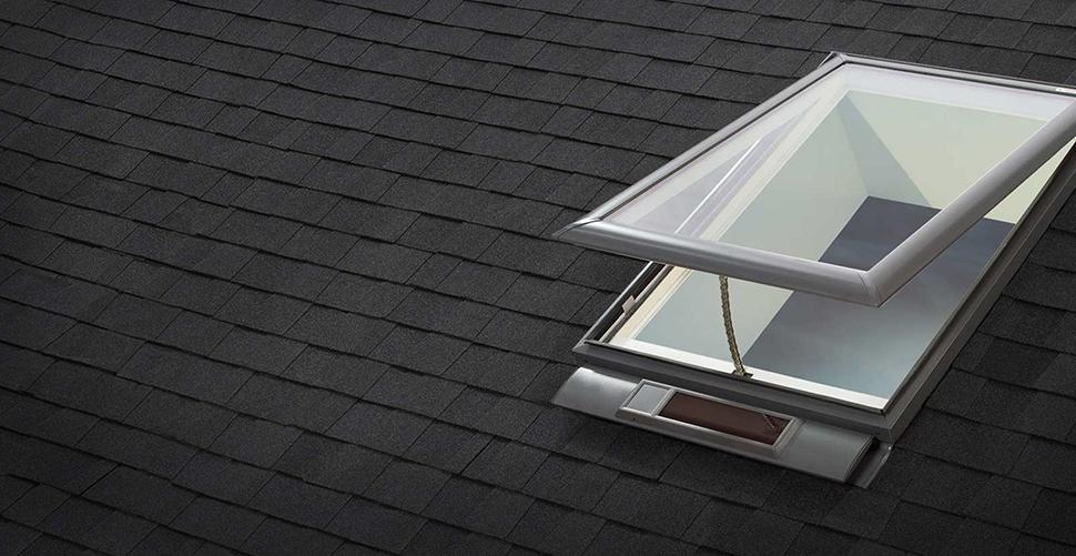 Velux skylights from a velux skylight certified dealer for Velux solar skylight tax credit