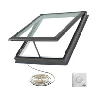 VELUX 34-1/2 in. x 34-1/2 in. Electric Skylight VCE 3434