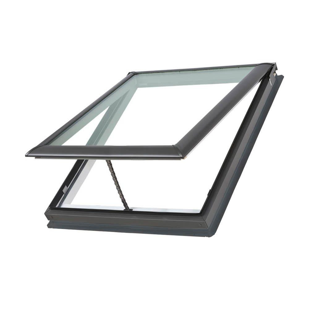 VELUX 30-1/16 in. x 30 in. Manual Venting VS M02 Skylight on