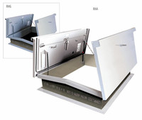 Acudor 60 x 60 Equipment Access Roof Hatch G6868 Galvanized - Double Leaf