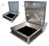 Acudor 48 x 48 Equipment Access Roof Hatch A5656 Aluminum - Single Leaf