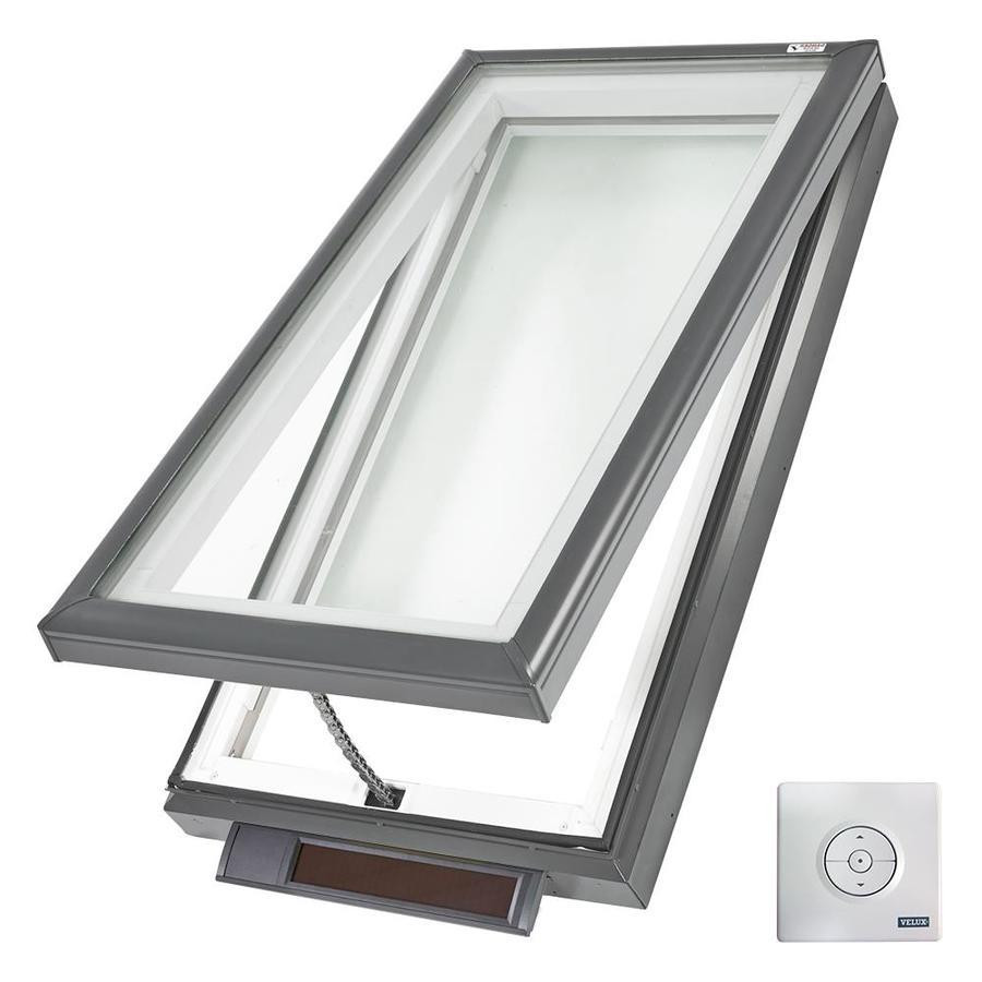 Velux vcs 2234 solar powered skylight for Velux solar skylight tax credit