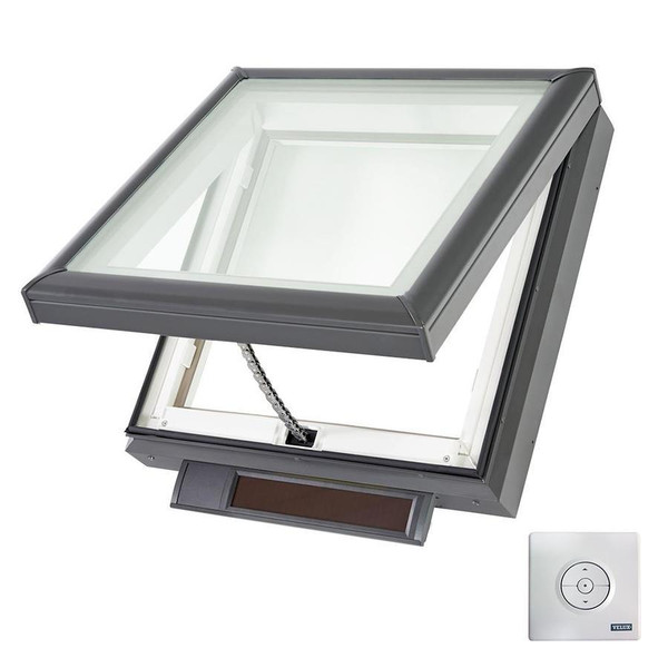 Velux vss s06 solar powered skylight for Velux solar skylight tax credit
