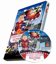 Turbo Kid Personalized DVD for Kids Case and Disc