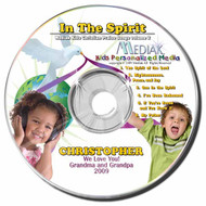 In the Spirit Personalized Kids Music CD