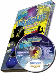 The Wubbles Adventure Personalized Kids Music DVD