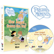 You're an Angel Precious Moments Personalized DVD for Kids Case and Disc