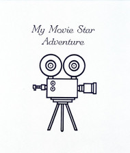 My Movie Star Adventure Personalized Childrens Book