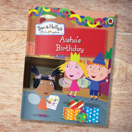 Personalized Ben and Holly: My Birthday - Large Hard Cover