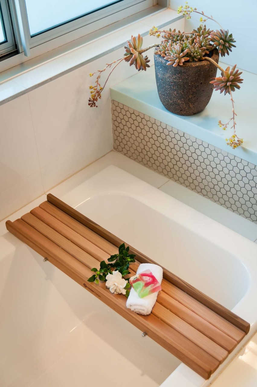 Cedar Bath Caddy Wood Bath Tray Australia Wooden Bath