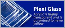 Plexi Glass Banner