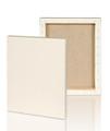 "Medium Grain :3/4"" Stretched Linen canvas 12X12: Box of 5"