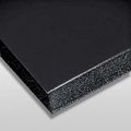 """3/16"""" Black Buffered Foam Core Boards :10 X 20"""